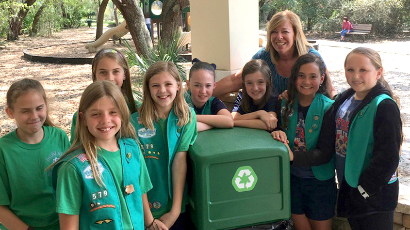 Girl Scout Troop 579