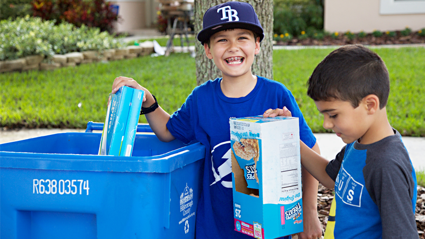 hillsborough county-recycling-blue bin