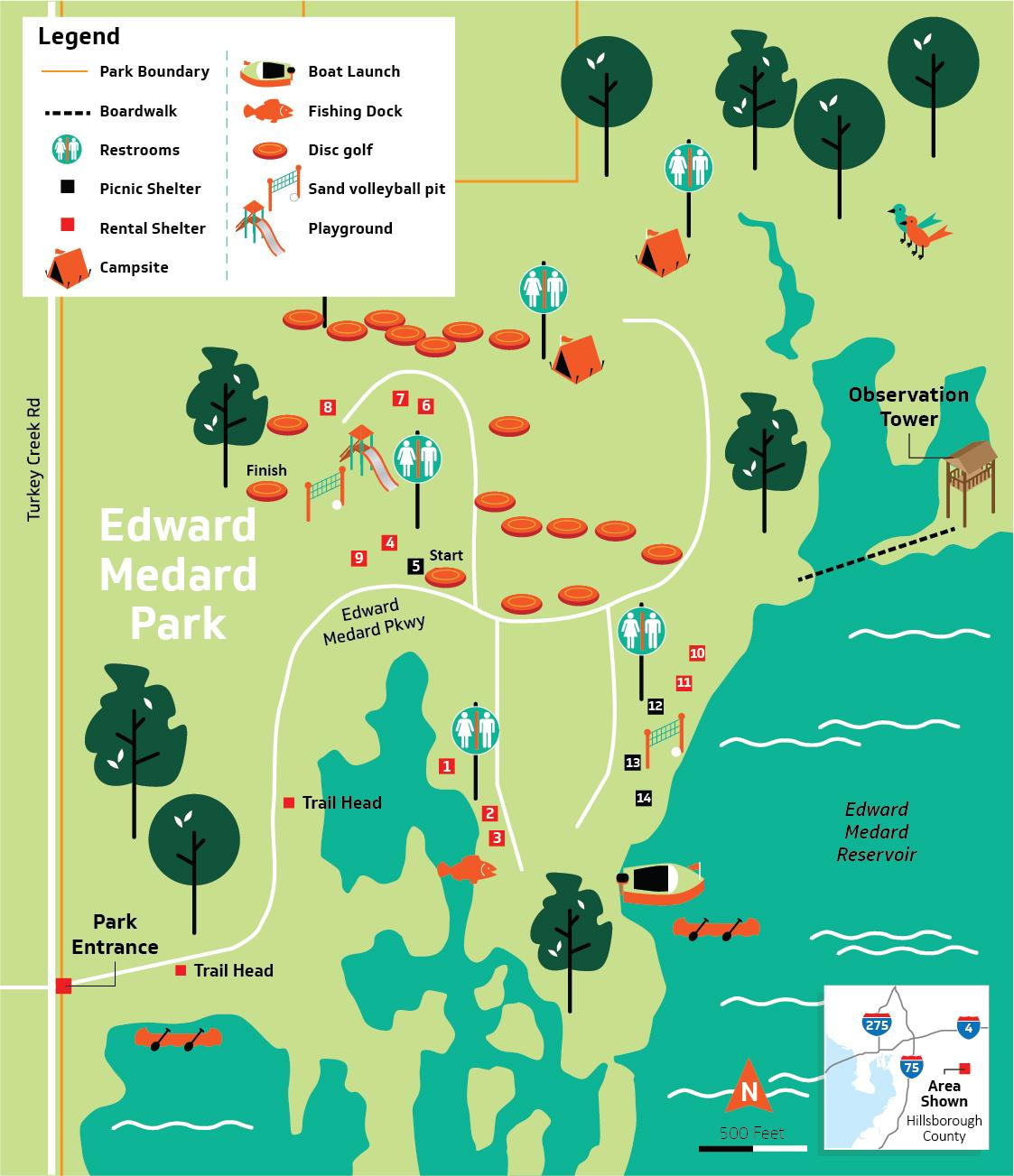 Hillsborough County - Edward Medard Conservation Park on