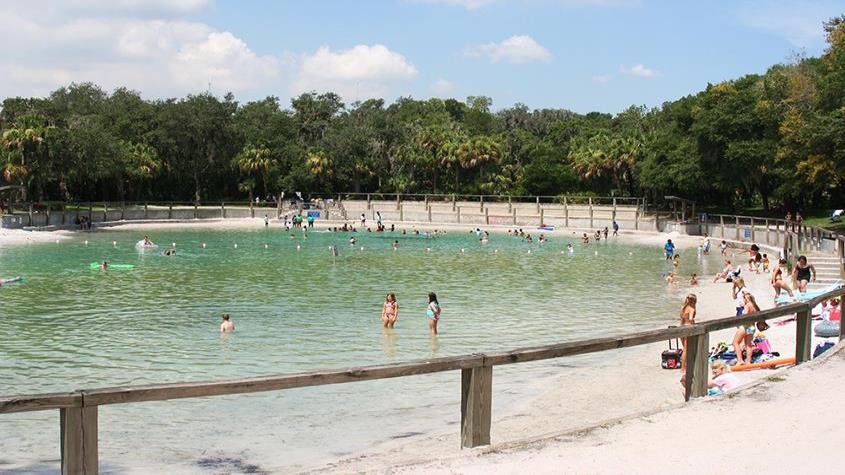 Lithia Springs swimming area