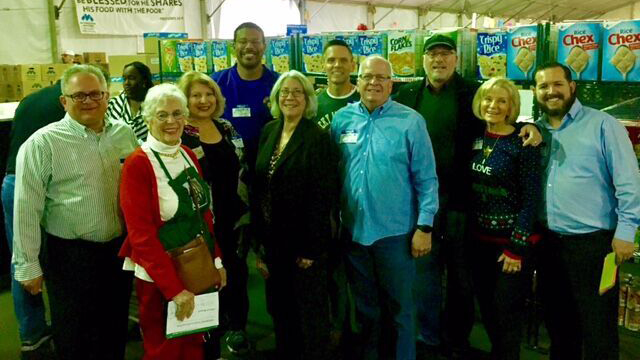 Commissioner Sandy Murman and other local elected officils at Metropolitan Ministries