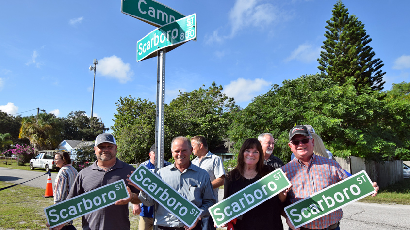 Scarboro signs